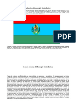 Descripcion Simbolos Municipio Simon Bolivar Estado Anzoategui