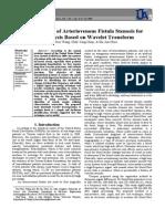 A Study Using a Wavelet Detection Algorithm to Determine Arteriovenous Fistula Stenosis