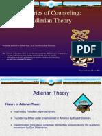 1. Adlerian Theory
