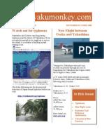 Yakushima Newsletter September and October 2009
