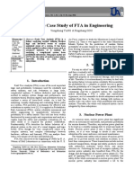 A Simple Case Study of FTA in Engineering