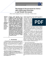 Non-Intrusive Physiological Measurement for Driver Cognitive Distraction Detection