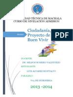 MODULO Proyecto v y Buen Vivir