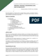Java Su Historia Ediciones Versiones y Caracteristicas Como Plataforma y Lenguaje de Programacion