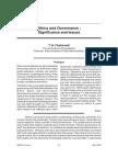 T. N. Chaturvedi_Ethics Adn Governance