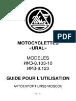 Ural Revue Technique IMZ-8-103