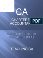 What is Chartered Accountancy