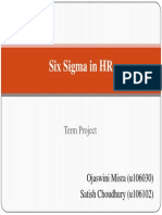 Six Sigma HR