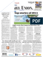The Daily Union. December 31, 2013