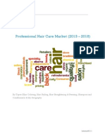 Professional Hair Care Market (2013 – 2018)