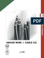 Overhead Cables Voltage Drop