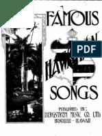 Famous Hawaiian Songs