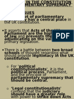 chapter 03 2- legitimacy in constitution and parliamentary supremacy
