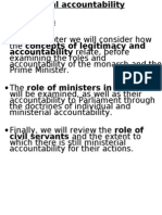 chapter 06 0 ministerial responsibility