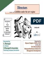 40 59102 Directors Role Liabilities