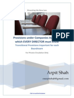 900056 59330 Provisions Under Companies Act Which Every Director Needs to Know