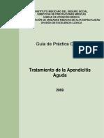 GPC Tratamiento de Apendicitis