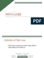Lecture 5 Path Loss