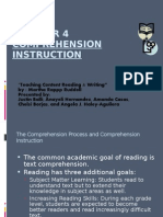 Ch4 Comprehension Instruction