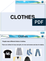 Special Clothes(Class I, EVS)