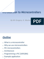 Intoduction to Microcontrollers - PIC