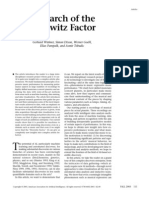 In Search of the Horowitz Factor