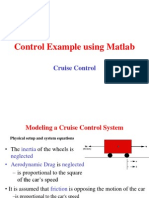 Control Example Using Matlab