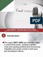 Food Crisis (Group Presentation)