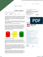 Understanding the SAP System Landscape