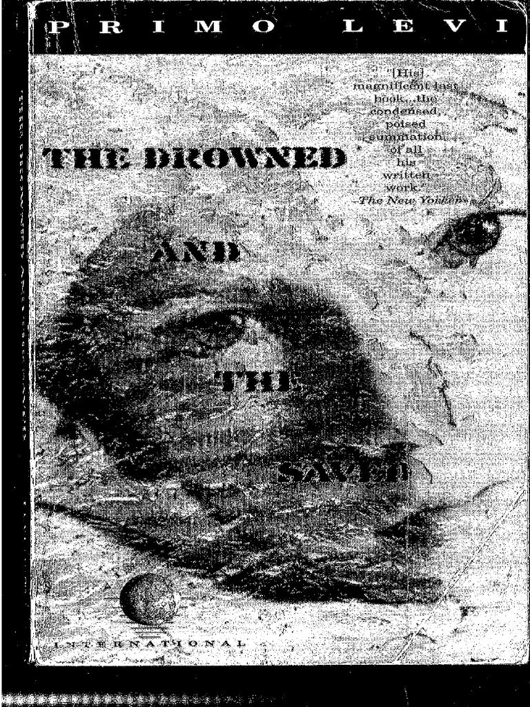 Primo levi the drowned and the saved gamestrikefo Gallery