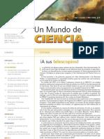 Un Mundo de Ciencia. Vol. 5, No. 1 Enero-Marzo 2007