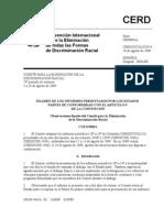 Convención Internacional sobre la eliminación de todas las formas de Discriminación Racial