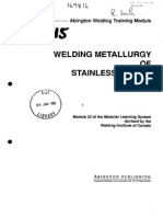 Welding Metallurgy of Stainless Steels 12363