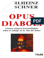 Opus Diaboli de Karlheinz Deschner