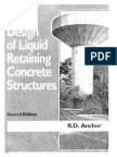 Design of Concrete Tank