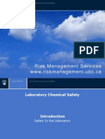 Chemical Safety Module 1