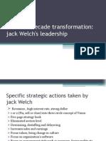 ge two decade transformation jack welchs leadership case study