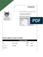 IslamicRelief Application Form