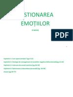 ebook Gestionarea emoțiilor