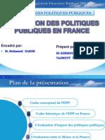 Exposé EPP en France