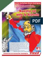 Cuadernillo completo del Sistema de Formación Socialista del PSUV