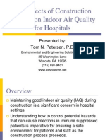 Effects of Construction Activity on Indoor Air Quality for Hospitals 2006