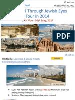 See Israel Through Jewish Eyes Tour in 2014