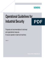 Operational Guidelines Industrial Security En