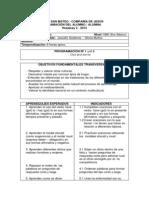 Planificacion Octavo Basico2012