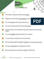 Halloween Adjectives 1