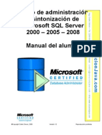 Curso de Administracion y Sintonizacion de Microsoft SQL
