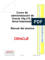 Curso de Oracle 10g Administracion nivel Intermedio