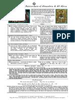 2014 - 1 Jan - Circumcision of Christ - St Basil