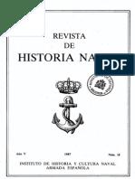 Revista de Historia Naval Nº18. Año 1987